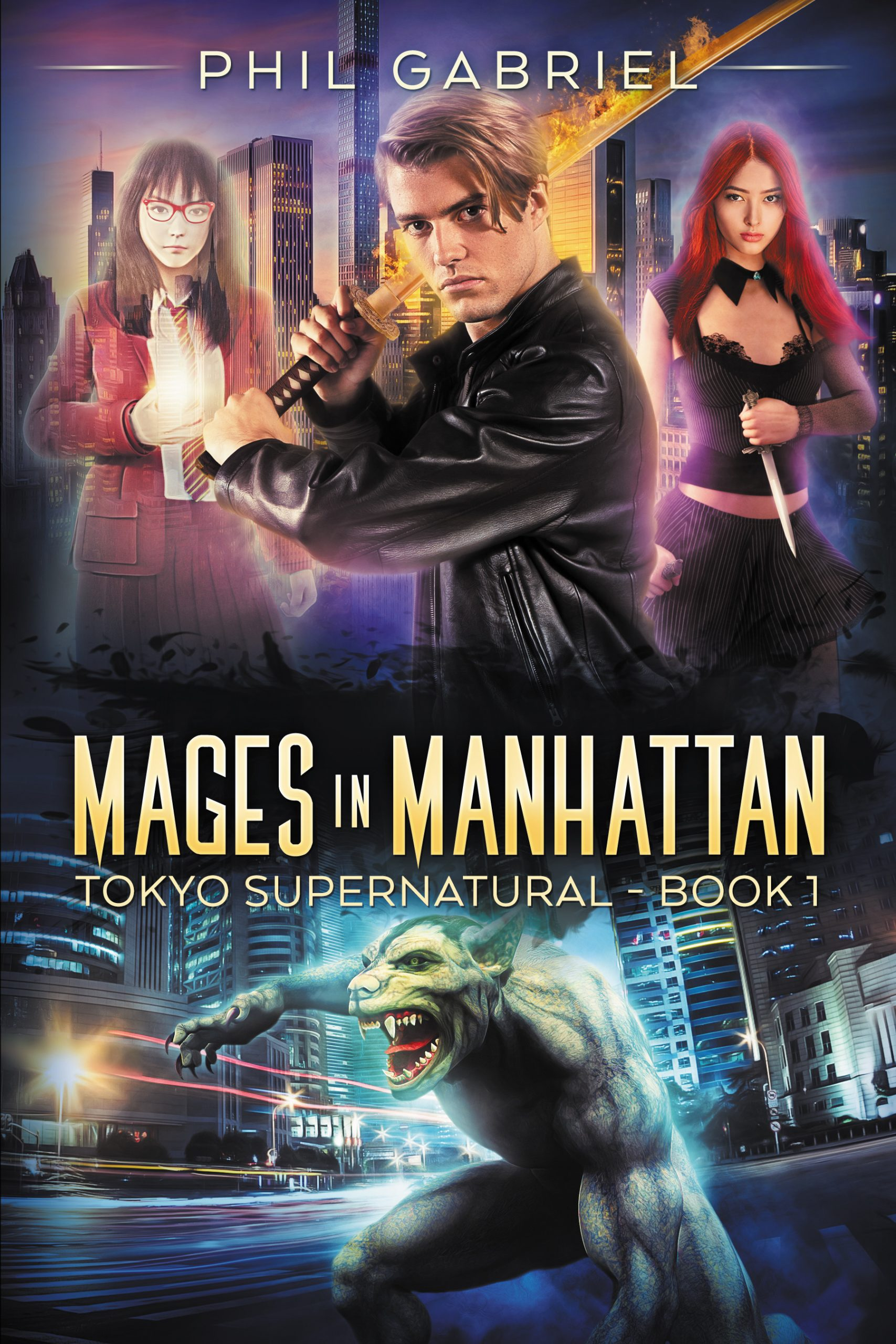 Mages in Manhattan (The Roppongi Enchanters, #2)